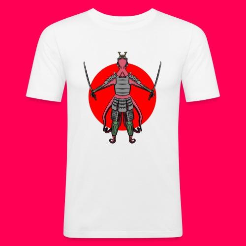 Octopus Samurai - Camiseta ajustada hombre