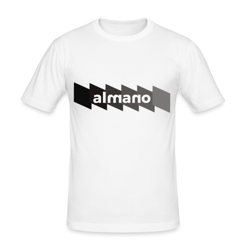 almanoFALLXFlash - Männer Slim Fit T-Shirt