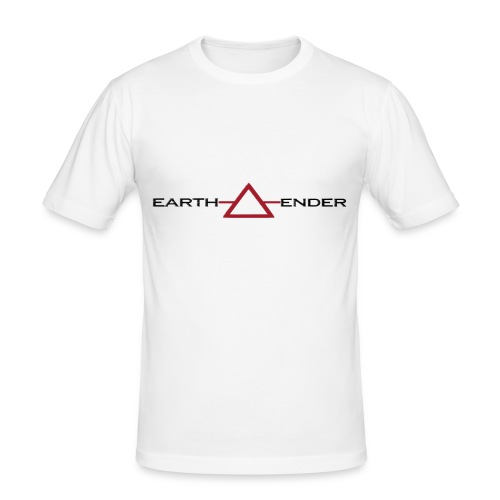 Earthender Pyramid - Männer Slim Fit T-Shirt