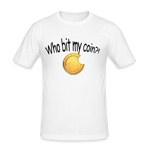 Bitcoin bite - slim fit T-shirt