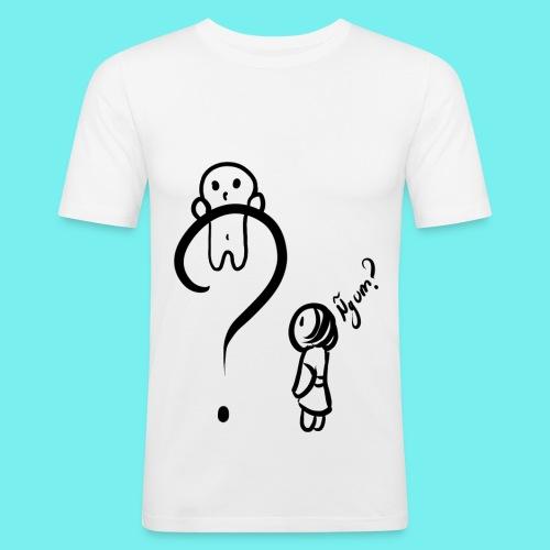 Qué? - Camiseta ajustada hombre