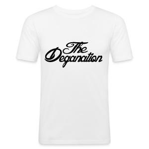 The Deganation - Slim Fit T-skjorte for menn
