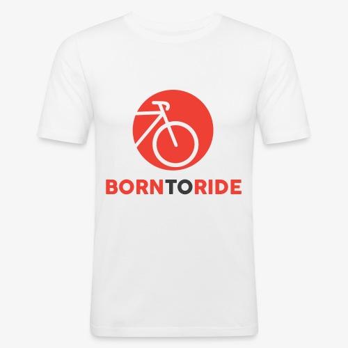 Born To Ride - Obcisła koszulka męska