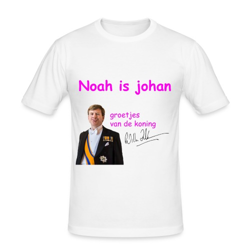 Noah is een echte Johan - slim fit T-shirt