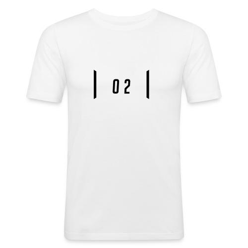 02 - Slim Fit T-shirt herr