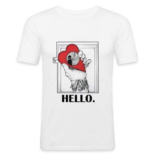 Lonely Heart - T-shirt près du corps Homme