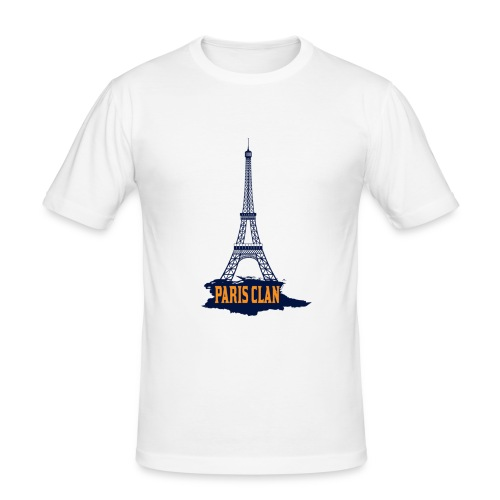 Paris Eiffel - Men's Slim Fit T-Shirt