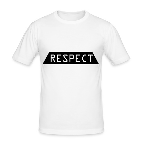 Respect - Slim Fit T-skjorte for menn