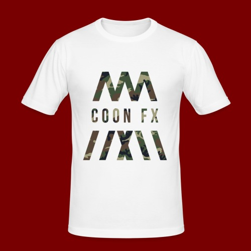 COON FX-ARMY STYLE - Männer Slim Fit T-Shirt