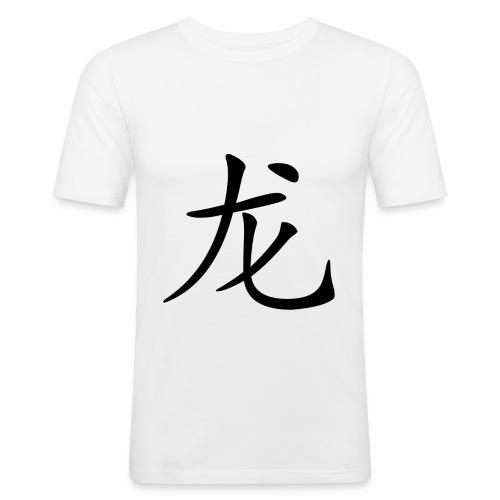 Hoodie Chinesisches Zeichen - Männer Slim Fit T-Shirt