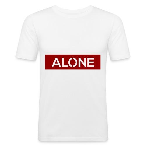 Alone RED Edition - Maglietta aderente da uomo