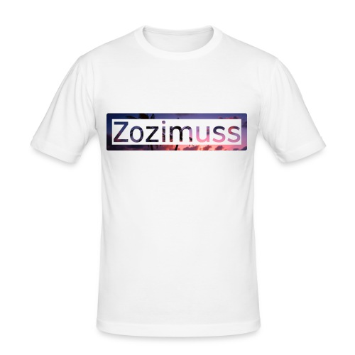 Zozimuss sunset. - Men's Slim Fit T-Shirt