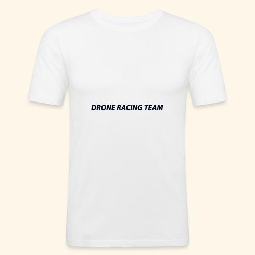drone racing team - Camiseta ajustada hombre