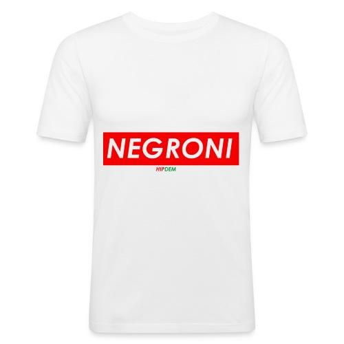 NEGRONIQUATER - Maglietta aderente da uomo