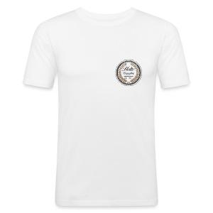 HoltebrygghusLogo - Slim Fit T-skjorte for menn