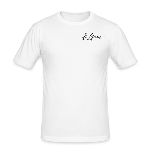 Lé Groom - Herre Slim Fit T-Shirt