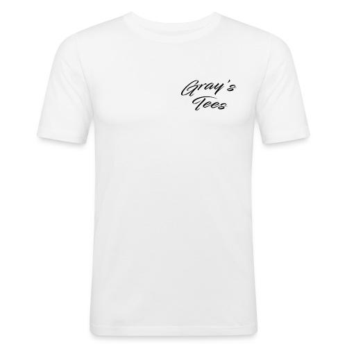 White Tees - Men's Slim Fit T-Shirt