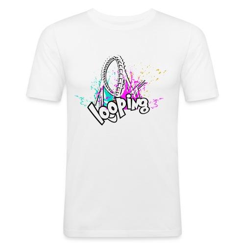 Looping - T-shirt près du corps Homme