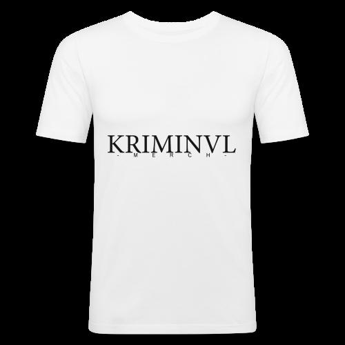 KRIMINVL'MERCH - Männer Slim Fit T-Shirt