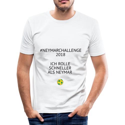 Neymarchallenge 2018 - Männer Slim Fit T-Shirt