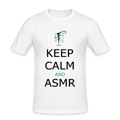 KEEP CALM AND ASMR - Maglietta aderente da uomo
