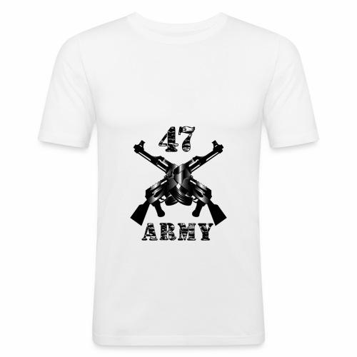 47 Army - Männer Slim Fit T-Shirt