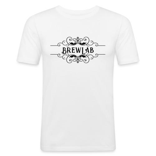 brewlab mono vecto - T-shirt près du corps Homme