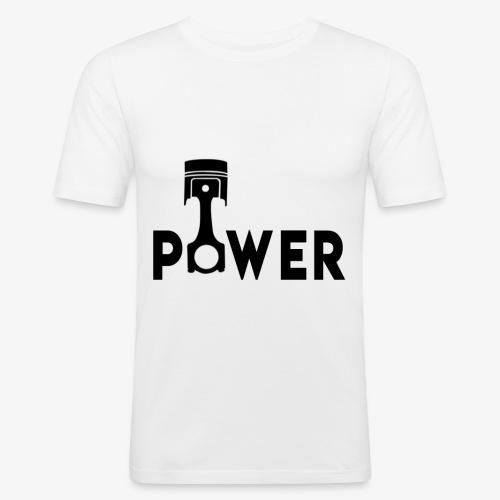 Power - Men's Slim Fit T-Shirt
