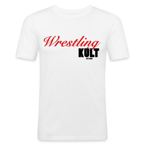 WK_Logo_Black - Männer Slim Fit T-Shirt