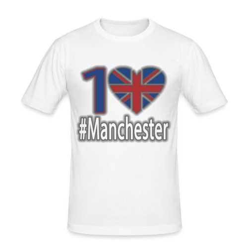 One Love Manchester - Men's Slim Fit T-Shirt