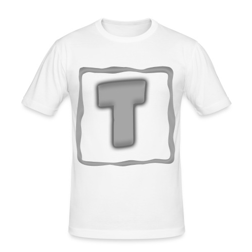 Logo Tuber - Männer Slim Fit T-Shirt