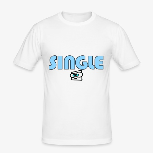 single a - Men's Slim Fit T-Shirt