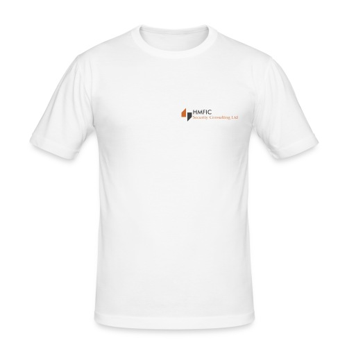 HMFIC Security Consulting Logo - Männer Slim Fit T-Shirt