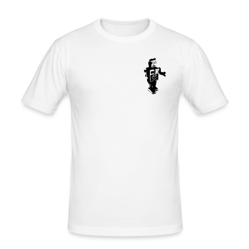 robot 4 - Men's Slim Fit T-Shirt