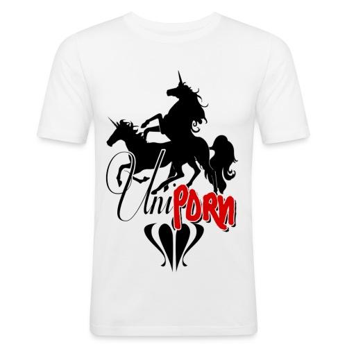Uniporn - Männer Slim Fit T-Shirt