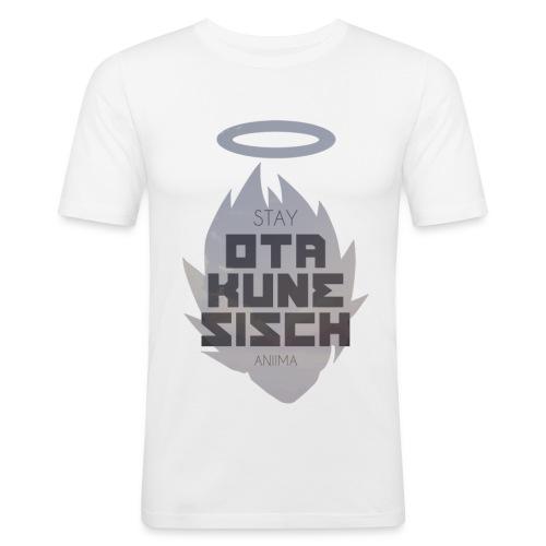 Stay OTAKUNESISCH - Männer Slim Fit T-Shirt