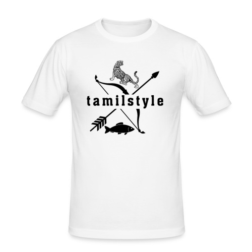 tamilstyle - Männer Slim Fit T-Shirt
