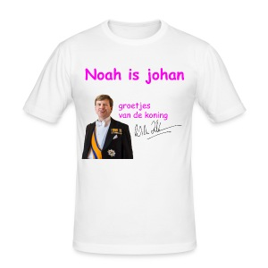 Noah is een echte Johan - slim fit T-shirt
