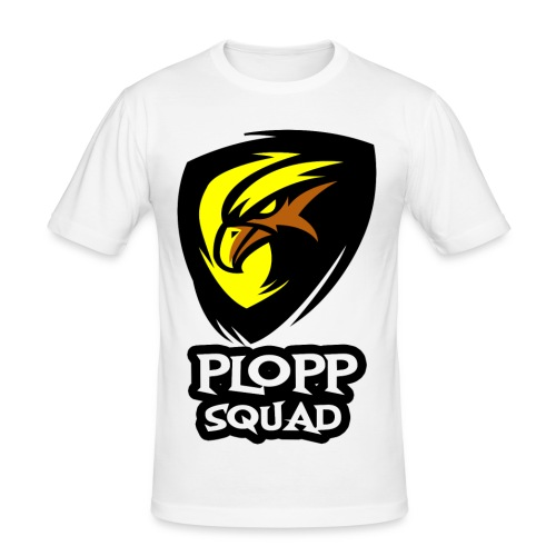 Plopp Squad - Slim Fit T-shirt herr