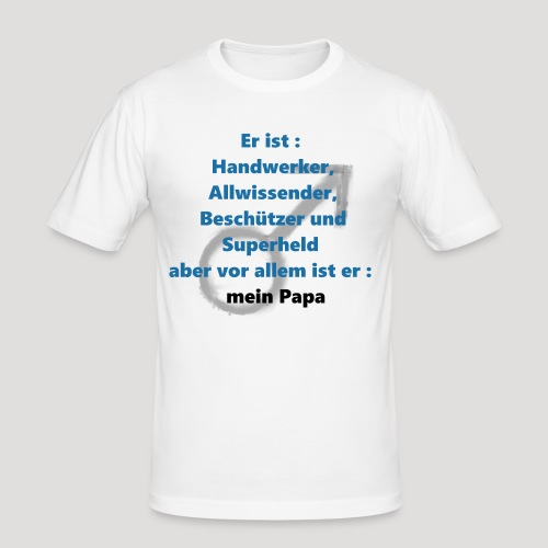 Vatertag - Männer Slim Fit T-Shirt