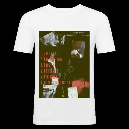 anxiety.proto - Männer Slim Fit T-Shirt