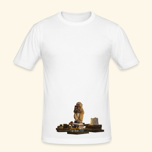 Booky - Männer Slim Fit T-Shirt
