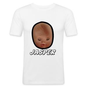 Jasper the Happy Baby - Men's Slim Fit T-Shirt