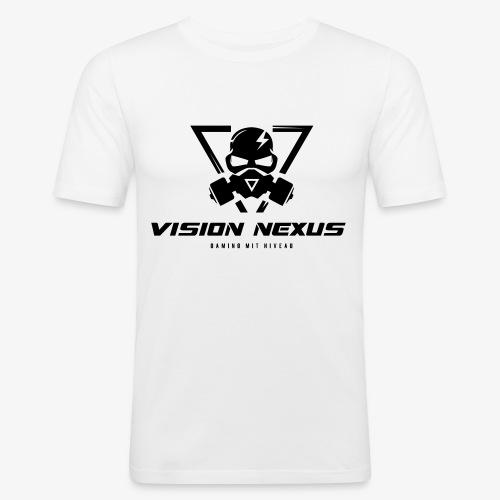 Vision Dark - Männer Slim Fit T-Shirt