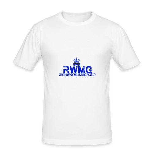 RWMG_Blue - slim fit T-shirt