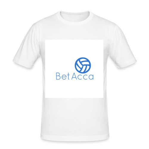 BetAcca Logo - Men's Slim Fit T-Shirt