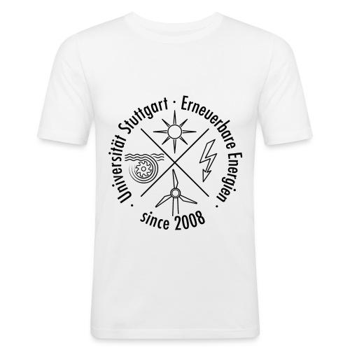 Erneuerbare Energien Schwarz - Männer Slim Fit T-Shirt