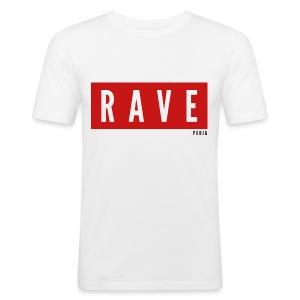 RAVE - Männer Slim Fit T-Shirt