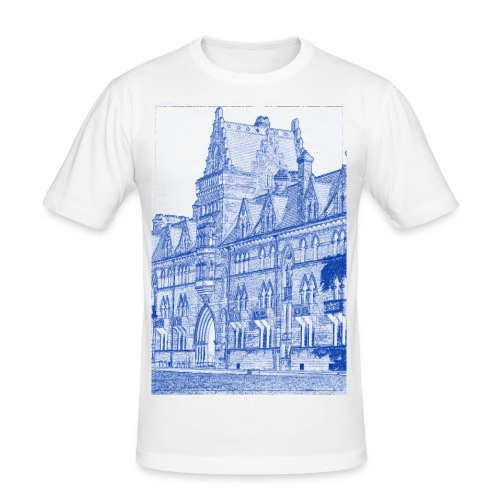 Oxford Architecture Design - Men's Slim Fit T-Shirt