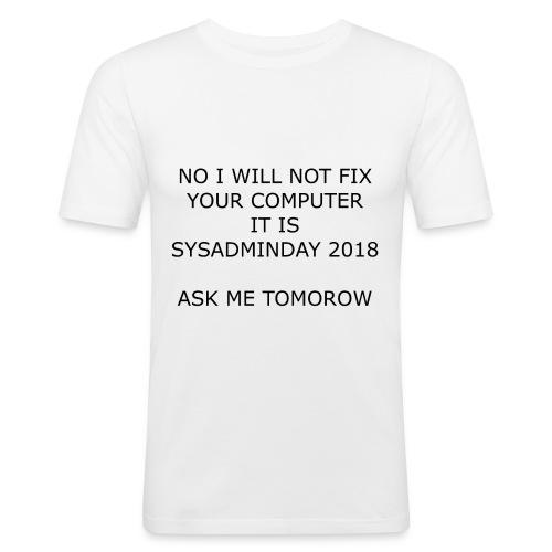 fixpc - Men's Slim Fit T-Shirt